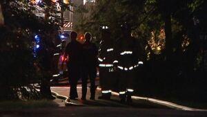 Fire at 170 Grey Fox Drive