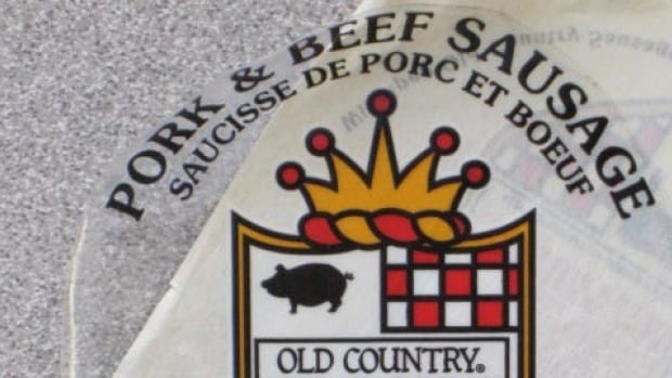 Old Country pork and beef sausages are among the products Winnipeg Old Country Sausage Ltd. is recalling because they contained quantities of mustard that weren't declared on the label.