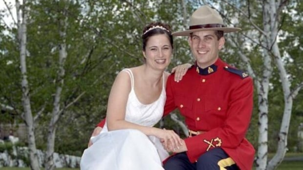 Const. Douglas James Larche was killed  Wednesday in Moncton.