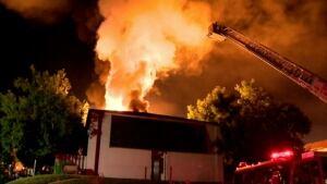 Brampton fire