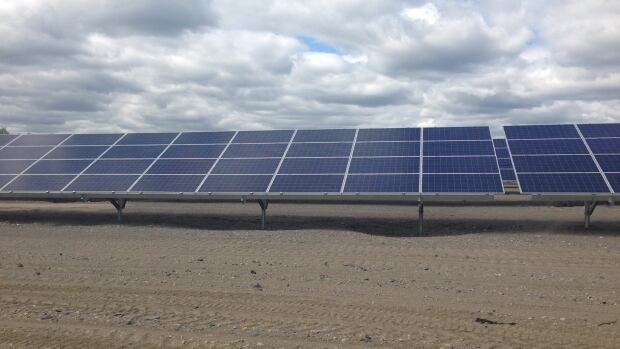 The Canadian Solar farm in Val Caron is awaiting final inspections from the Ontario Power Authority.
