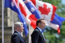 Stephen Harper and Tony Abbott 20140609