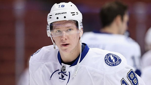Ondrej Palat had 23 goals and 59 points in his rookie season with the Lightning.