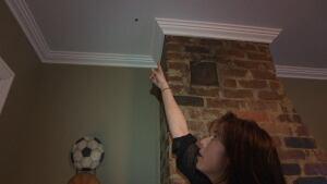 Homeowner Lori Walsh