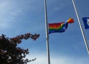 Pride flag Regina