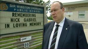 Peel school board spokesperson Brian Woodland