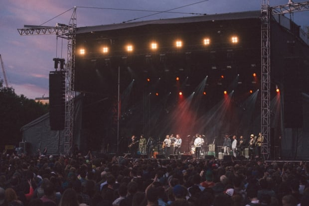 Broken Social Scene were a big draw and ended the festival down.