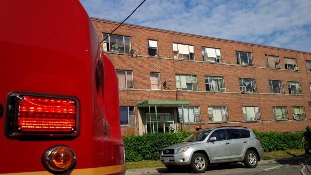 Two-alarm fire on Westmount Avenue
