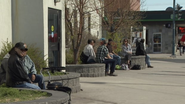 The City of Yellowknife has removed benches from in front of the post office after complaints from an employee and customers about harassment.