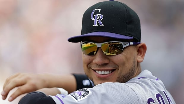 Rockies outfielder Carlos Gonzalez will have surgery Tuesday on his left index finger. He is hitting . 255 in 52 games this season with eight home runs and 31 runs batted in.