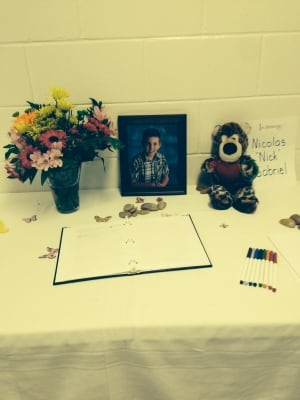 Memorial for Nick Gabriel