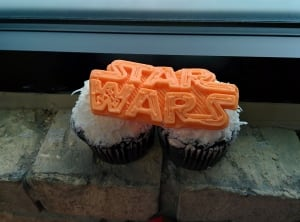 Star Wars icing