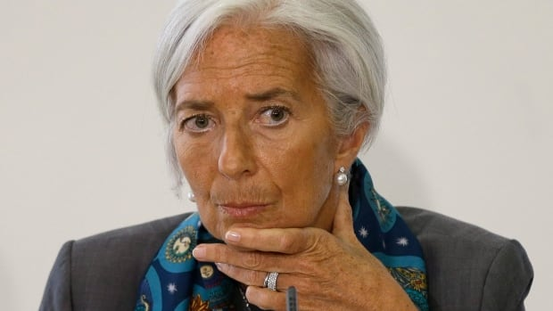 International Monetary Fund managing director Christine Lagarde said she supports a carbon tax or cap and trade system or other mechanism to build in the economic costs of pollution from any energy source.