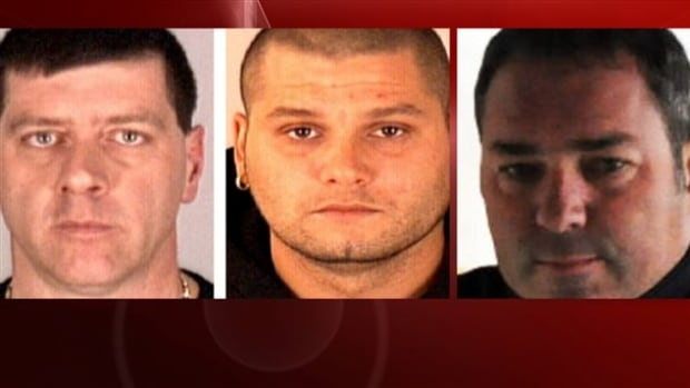 Denis Lefevbre, Yves Denis and Serge Pomerleau escaped in a helicopter that landed on the grounds of the Quebec jail Saturday.