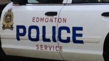 Edmonton police car door