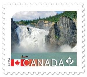 Nahanni National Park postage stamp