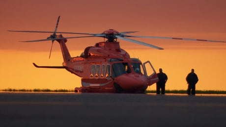 ORNGE helicopter air ambulance Kingston