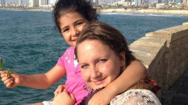 Rachelle Friesen says Israeli authorities have banned her from entering that country for 10 years.
