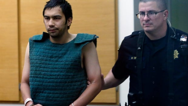 A Washington state prosecutor told a court Tuesday that alleged Seattle Pacific University campus shooter Aaron Ybarra, left, intentionally stopped taking medication and chronicled his plan to kill students at the small Christian school in the week prior to the attack.
