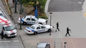 Yaletown shooting, police head to Science World