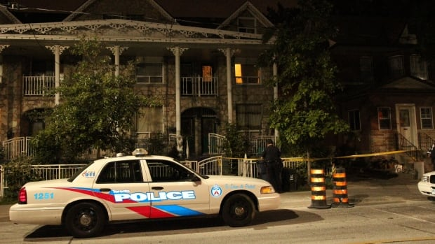 Police are investigating after a man suffered multiple stab wounds early Wednesday on Lansdowne Avenue , just south of Bloor Street West,