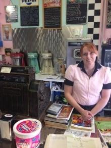 black diamond marv's classic soda shop
