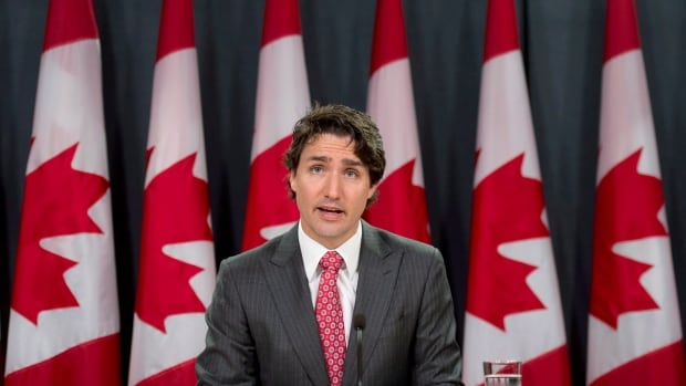 Liberal Leader Justin Trudeau speaks about his private member's bill to make government more transparent, during a news conference on June 11 in Ottawa.