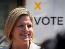 Horwath vote sign