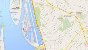 map Parc Jean Drapeau