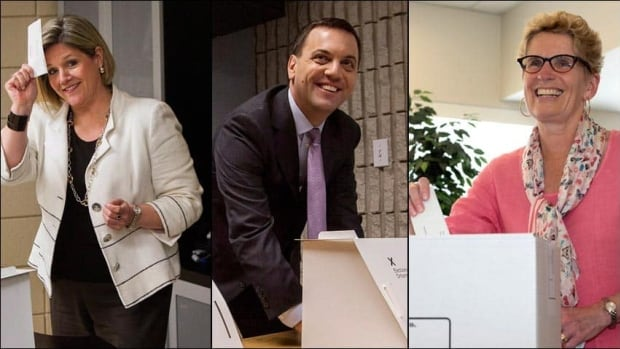 The leaders of Ontario's three major political parties have plenty of work to do over the summer break. Andrea Horwath, left, has to rebound from a poor showing in the June  election; Tim Hudak's Tories will look for a new leader and Premier Kathleen Wynne faces will try to pare back the deficit while minimizing job losses.