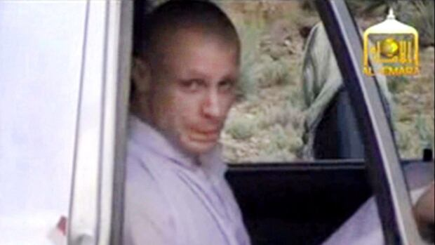 In this image taken from video, Sgt. Bowe Bergdahl is seen during his handover to U.S. forces in eastern Afghanistan. In Facebook posts before his capture, Bergdahl criticized unnamed military commanders and government leaders.