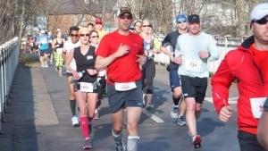 Douglas Larche running