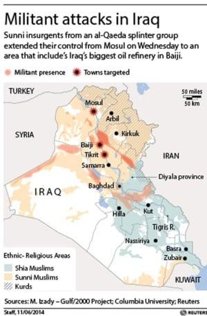 Militant attacks in Iraq