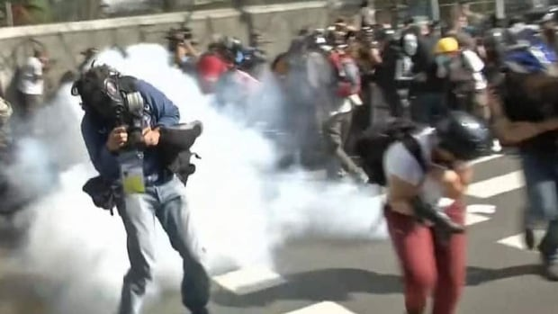 World Cup protests turn violent