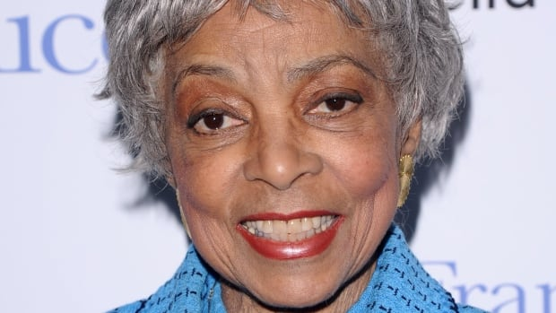 Revered American actor and civil rights activist Ruby Dee, seen in 2010, has died at the age of 91.