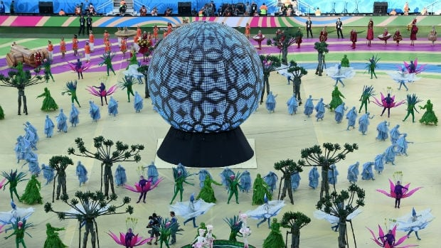 World Cup, opening ceremony
