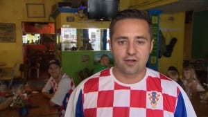 Croatian fan - David Soric