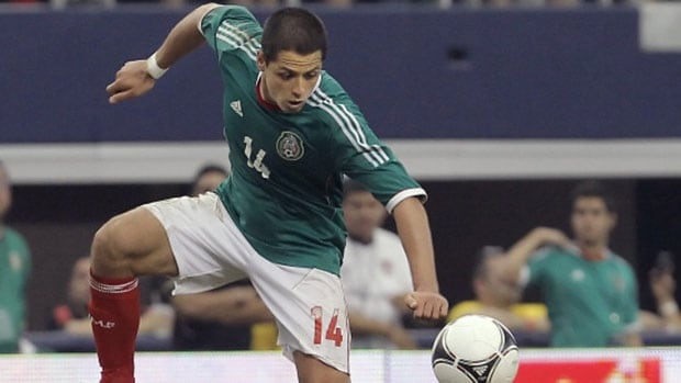 Mexico forward Javier Hernandez has a knack for scoring when his team needs him most.