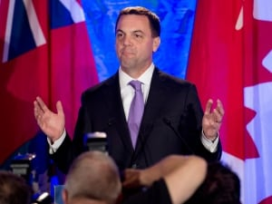 Tim Hudak resigns