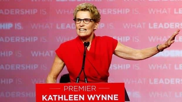 Kathleen Wynne victory speech