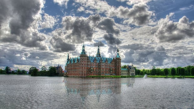 Denmark's Frederiksborg Castle, once the home of Danish royalty, was built around the same time the  Royal Order of Dannebrog was created. It is now Denmark's National History Museum.