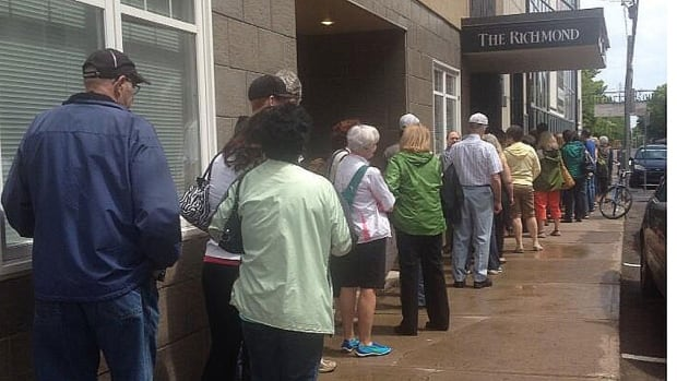 The line at The Guild for free Celebration Zone tickets stretched around the corner and down the block last week.