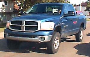 fatal hit and run blue truck