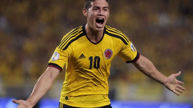 With Radamel Falcao out, Colombia will look to James Rodriguez to lead the offensive attack.