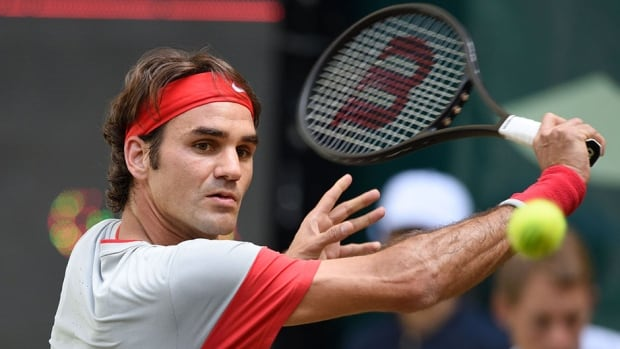 Roger Federer will have a chance to add a seventh Gerry Weber Open title to his resume.