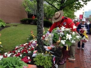 Moncton memorial dismantled