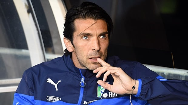 Gianluigi Buffon remains questionable for Italy's next match at the World Cup with ankle and knee injuries.