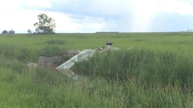 A plane crash near Torquay, Sask., on Sunday morning left two men dead.