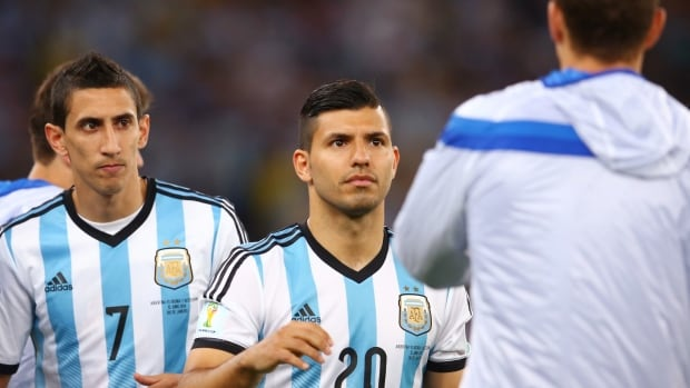 Argentina's Sergio Aguero would be the top striker on most teams at the World Cup, but he can be overshadowed by Lionel Messi.