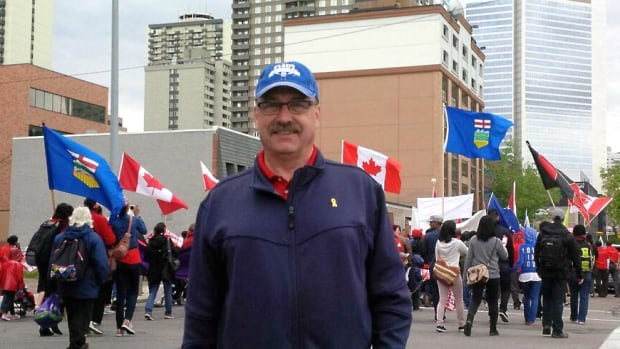 PC leadership candidate Ric McIver is explaining his participation in the March for Jesus parade in Calgary.